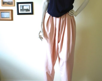 Vintage 80s tapered pants // Size 10