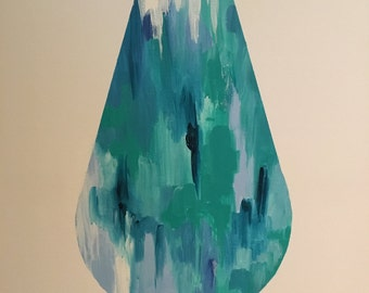 THE DROP // Art Print, Reproduction of an Acrylic Painting, Australia