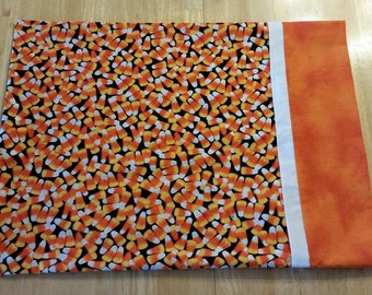 SALE!   Pillowcase Toddler/Travel Size - Candy Corn