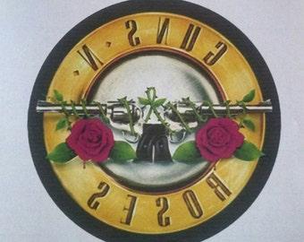 Guns n Roses GnR Heat Transfer Image Transfer