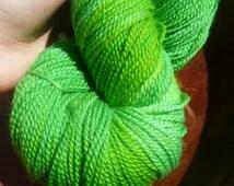 Superwash Merino sock, fingering yarn, Hand dyed, 100 grams, 360 yards