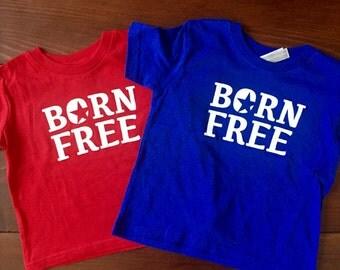 Printed Kids Tee. Toddler Tshirt. Fourth of July Baby Tank. Toddler Shirts.