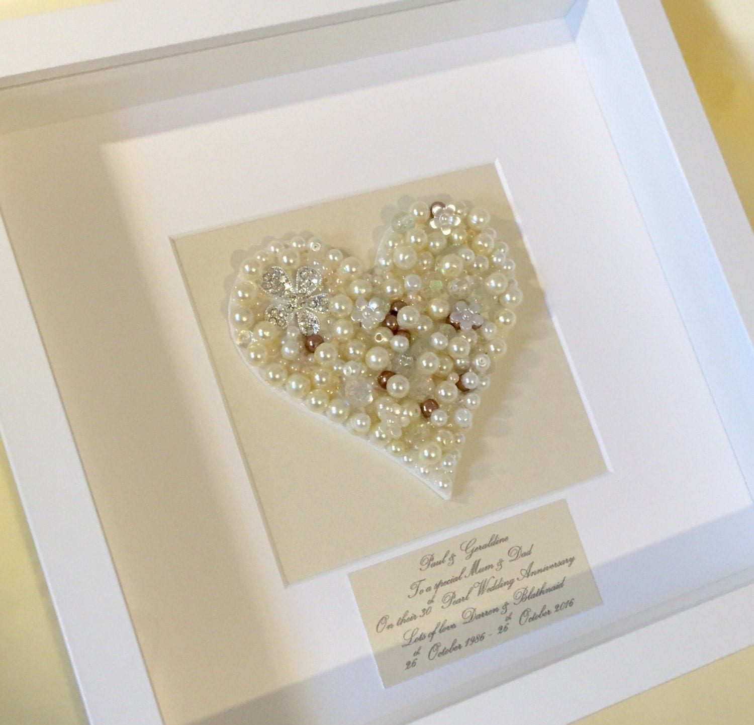 Traditional 30th Wedding Anniversary Gift: 30th Pearl Wedding Anniversary Gift Pearl Wedding Anniversary
