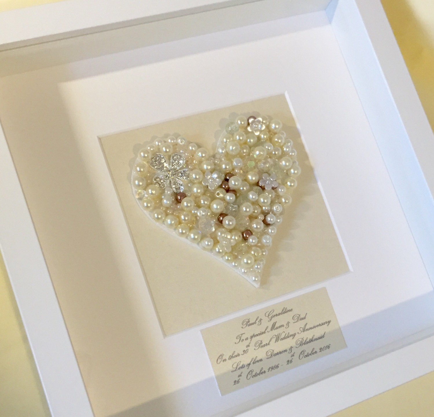 Gift Ideas For 30th Wedding Anniversary: 30th Pearl Wedding Anniversary Gift Pearl Wedding Anniversary
