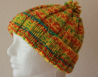 Colorful Knit Hat #967