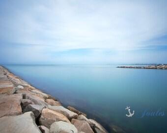 Vineyard Calm ~ Photograph, Nautical, Beach, Martha's Vineyard, Ocean, New England, Edgartown, Coastal Decor, Vineyard Photography
