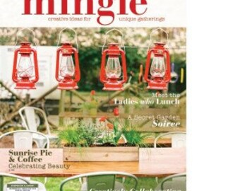 MINGLE Magazine -- creative get-togethers! Winter 2016