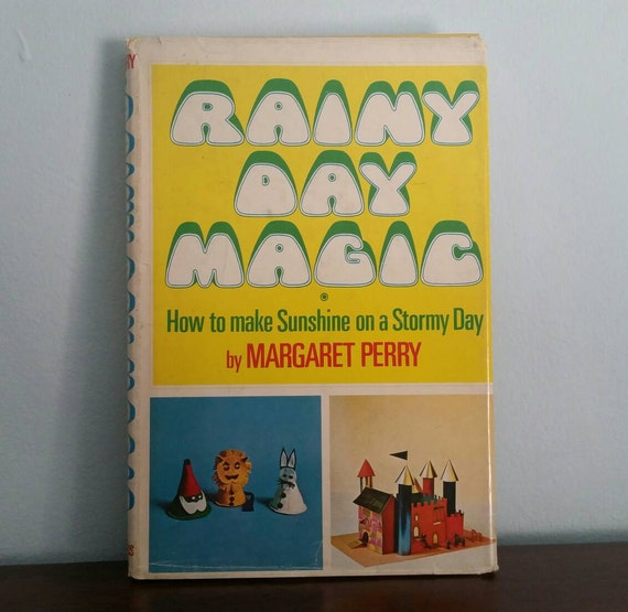 Rainy Day Magic by Margaret Perry, vintage craft book