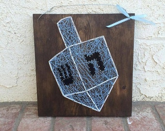 Dreidel String Art