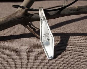 Silverware Handle Necklace - NL007
