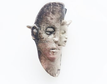 Sterling  Silver Face to face