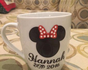 Minnie Mouse Coffee Mug with Name