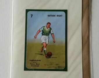 Original 1950s 'Goal' card Hibernians