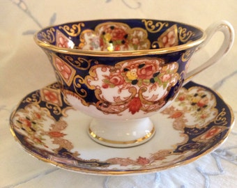 Royal Albert Derby cup and saucer