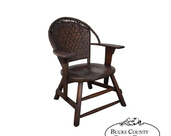 old hickory antique arm chair