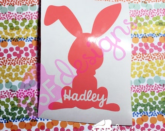 Custom Easter Bunny with Name
