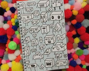 Geometric Cuties Notebook