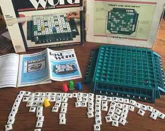 Vintage Last word game