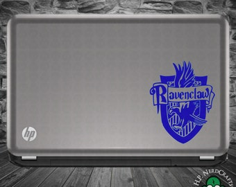 Ravenclaw House Crest Decal - Book Version