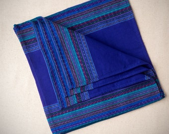 Guatemalan Napkin Set (4) For Home, Handwoven, San Antonio Palopo, Made in Guatemala