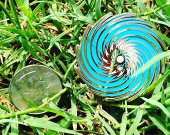 Spiral Hat Pin