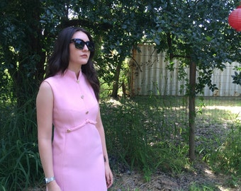 60's Bubblegum Shift Dress