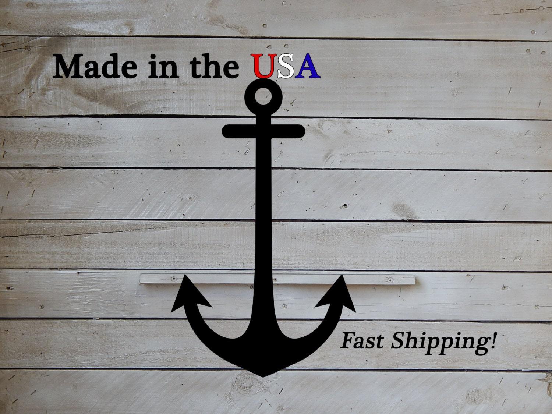 Smaller anchor anchor door decor front door sailor anchor for Anchor door decoration
