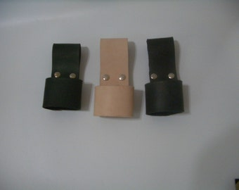 AXE HOLDER hand made real leather  3.5mm thick with heavy duty rivets