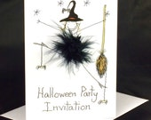 Halloween Invitation and card