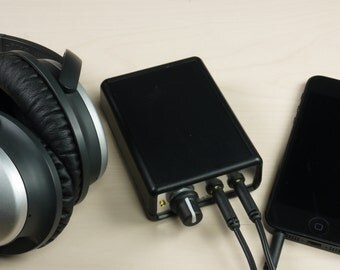 SoloP Portable Headphone Amp Kit DIY Cmoy