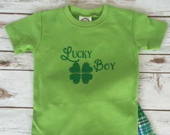 Lucky Boy! Spring & St. Patrick's Day Shirt