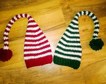 Baby Elf Hat - Long Tailed Crochet Hats