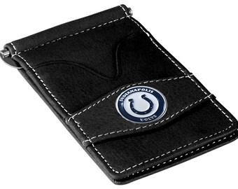 Indianapolis Colts Black Wallet & Card Holder