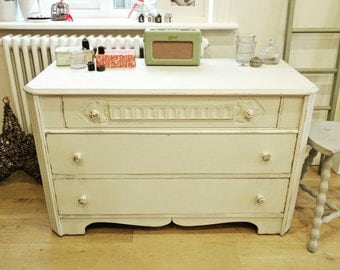 Chest of drawers, painted, vintage