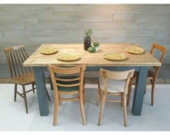 Natural Plank Dining Table