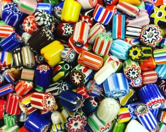 Chevron Beads or aka African Trade Beads