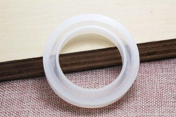 Lisses Large Bracelet Silicone Moule R Sine Par Bronzemetal
