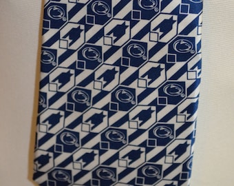 Vintage Penn State University Nittany Lions Full Length Necktie by Eagles Wings