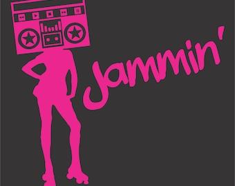 Roller Derby T-shirt - Jammin'