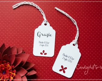 TAGS For Wedding FAVORS
