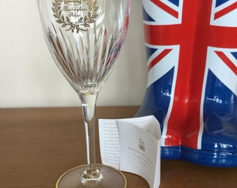 Buckingham palace souvenir glass