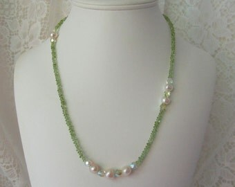 Pretty in Peridot Necklace ECS