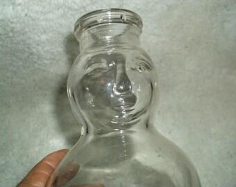 Greenleaf Dairy Petersburg Va. Baby Face Quart Milk Bottle