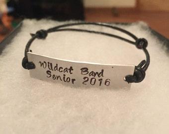Adjustable customized bracelet!