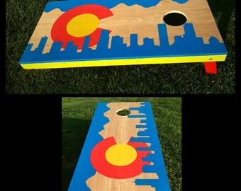 Colorado Cornhole Set