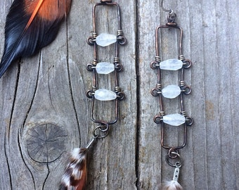Evening Primrose Handmade Earrings