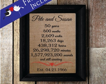 50th Wedding Anniversary Gift For Husband : Ideas About 50 Years Of Marriage Gifts, - Valentine Love Quotes