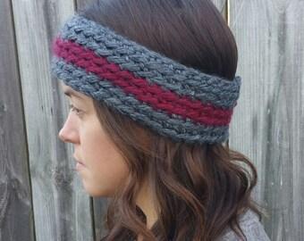 Custom crochet earwarmer