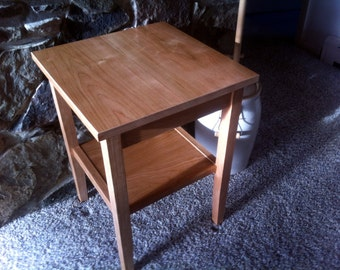 Cherry Side Table / End Table