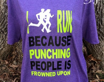 Runners shirt,work out shirts,funny shirts,gifts for friends,work out gifts,work out gear,work out clothes,running shirt,i run because,gifts